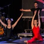Akrobatik-Einlage Modeshow Trachten Trummer