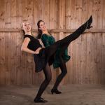 Schottische Tanzshow